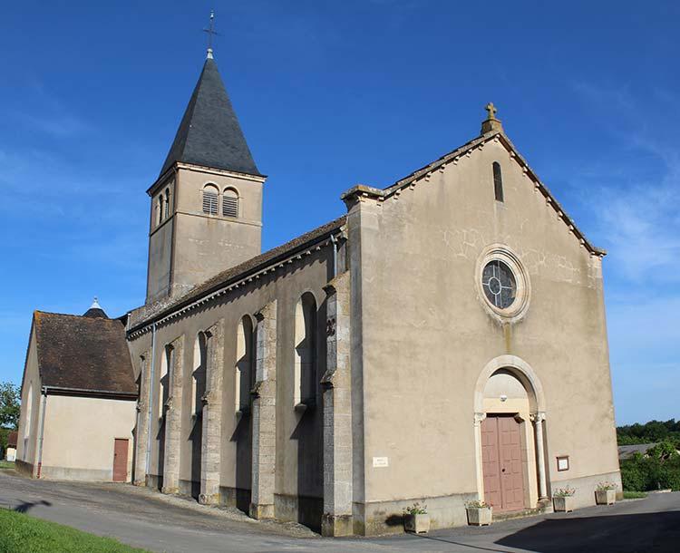 Eglise Chavannes sur Reyssouze