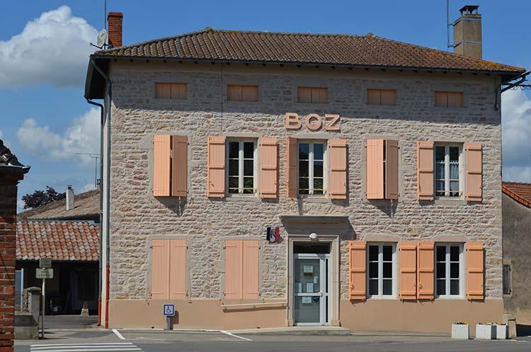 Mairie de Boz