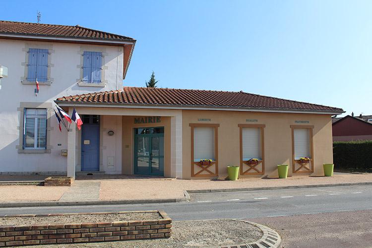 Mairie de Saint André de Bâgé