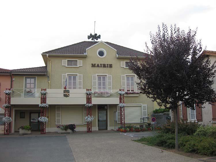 Mairie de Manziat