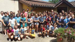 Remise des livres à l'école de Bâgé-la-Ville
